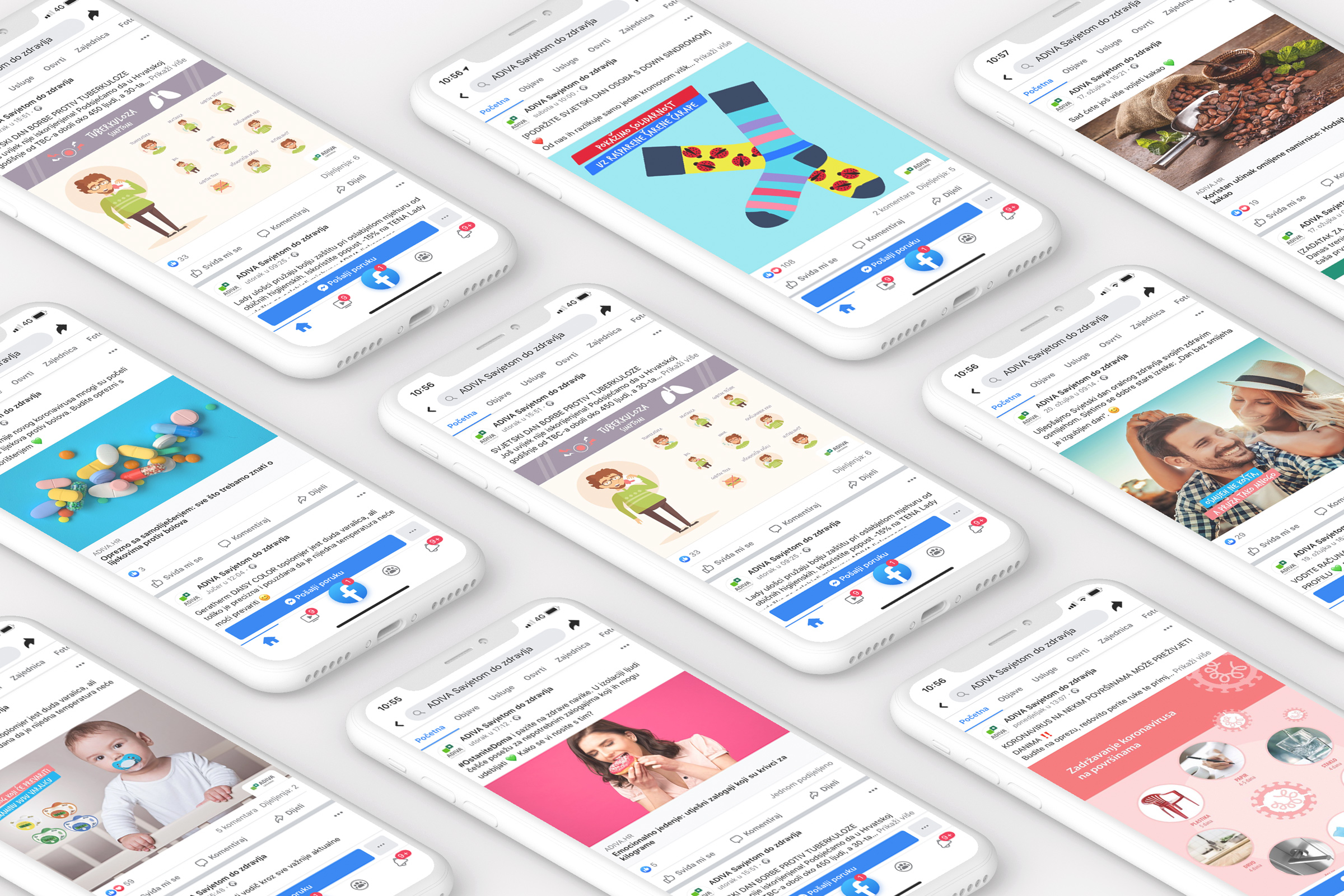 Production and UX/UI design of mobile application