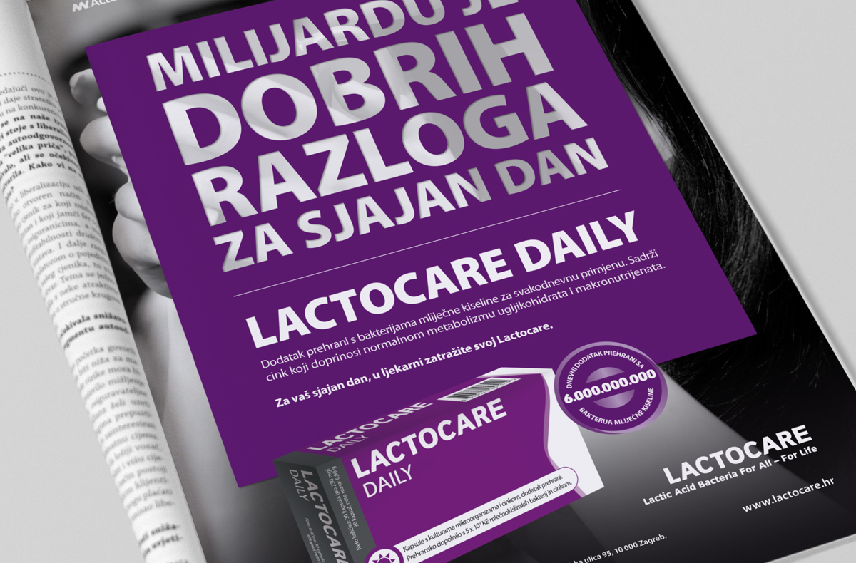 Dobre Lactocare bakterije integrirana marketinška kampanja